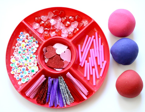 Love Bug Valentine Play Dough