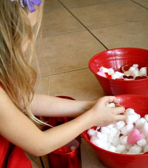 Valentine Sensory Play for Preschoolers