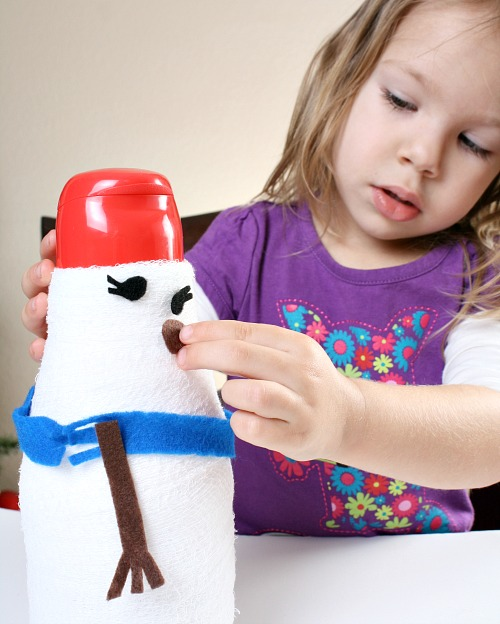 Winter Activities for Toddlers...Decorate a Snowman