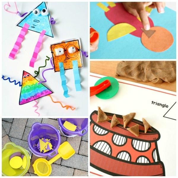 2D Shape Activities for Kids
