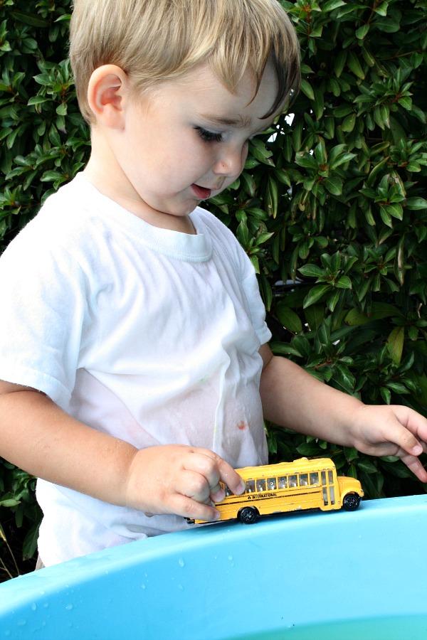 Car Wash Water Play