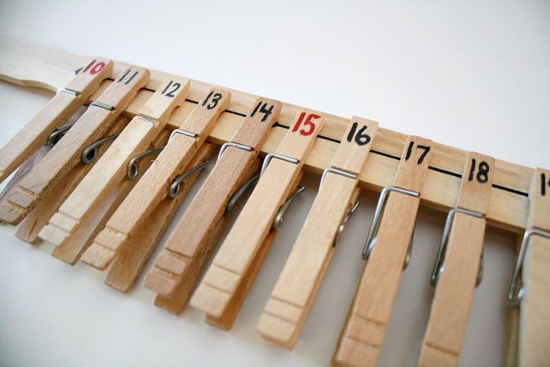 DIY Number Line