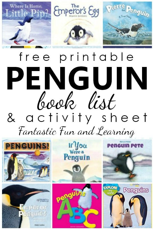 photo relating to Printable Penguins known as Penguin Publications - Outstanding Exciting Discovering