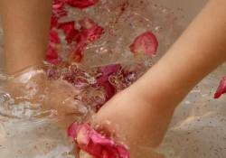 Flower Petal Sensory Play