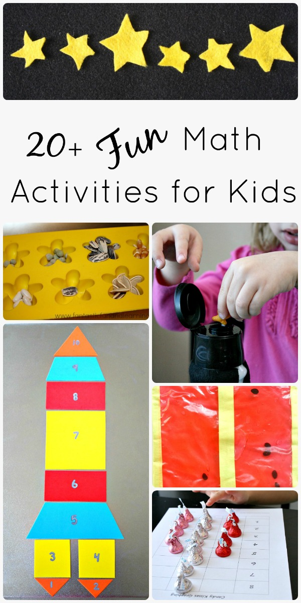 Math Activities for Kids - Fantastic Fun & Learning