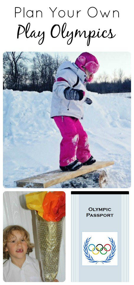 Plan Your Own Play Olympics...featured posts from the Discover and Explore linky