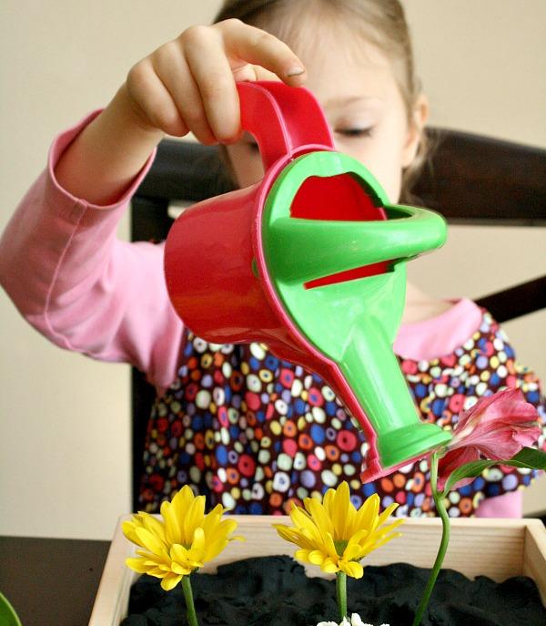 Pretend Play Gardening Activities for Kids