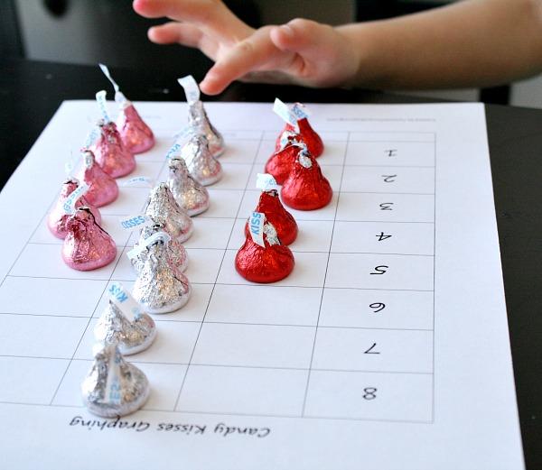 Graphing Chocolate Kisses Free Printable