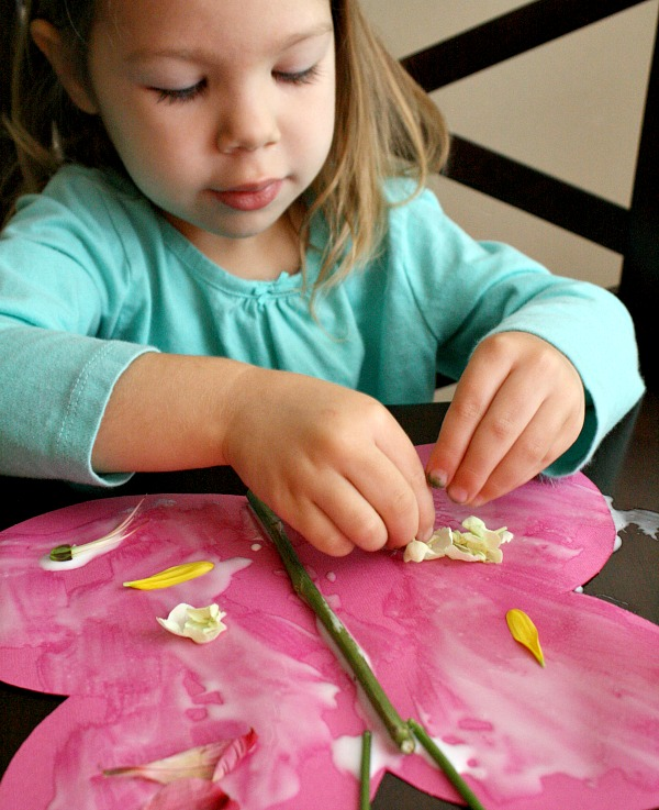 Toddler Butterfly Craft