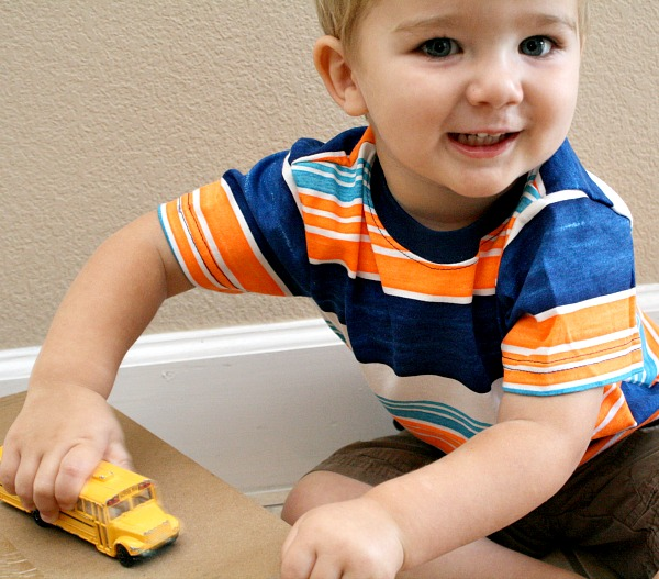 Toddler Car Activity