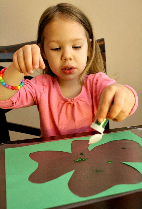 Toddler St. Patrick's Day Craft