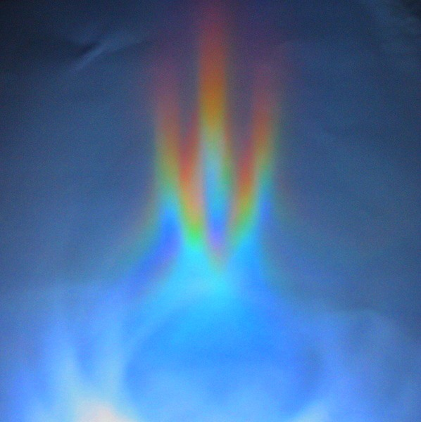 Making Rainbow Reflections Science Experiment