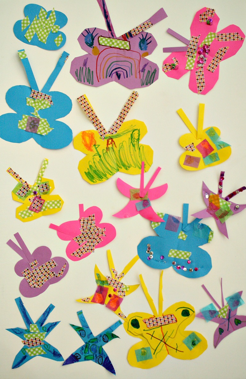 Easy Paper Butterfly Craft Fantastic Fun amp Learning