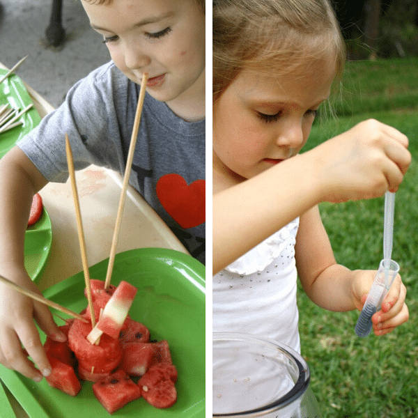 Fine Motor Messy Play