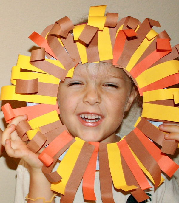 Lion Fine Motor Craft