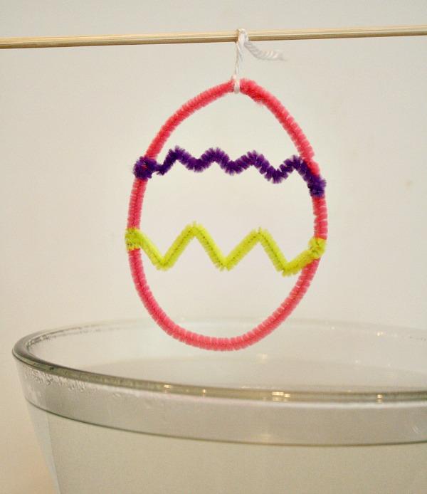 Making Easter Egg Crystals