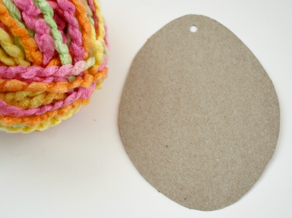 Materials for Yarn Egg Craft