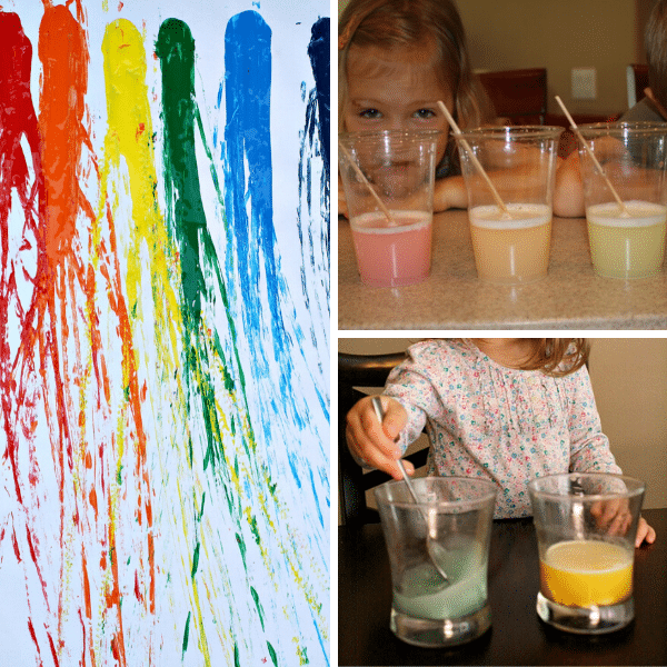 Rainbow Science Experiments