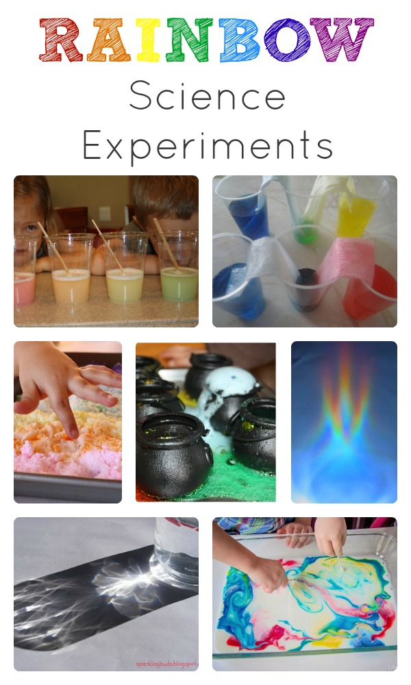Rainbow Science Experiments for Kids