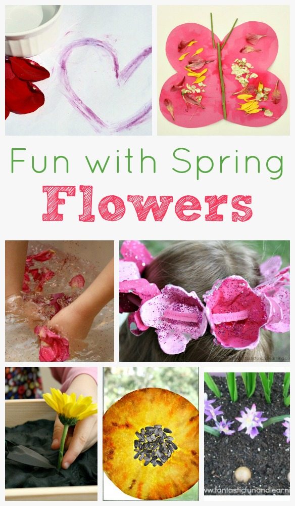 Spring flower activities for kids fantastic fun learning spring flower activities for kids mightylinksfo Choice Image
