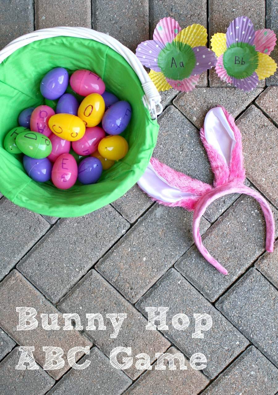 Alphabet Easter Activity for Kids