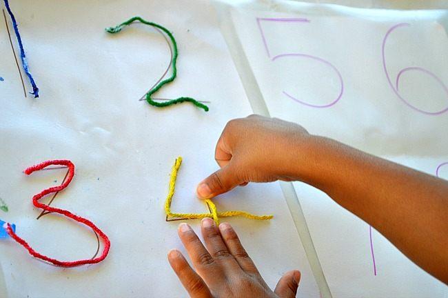 stick yarn math