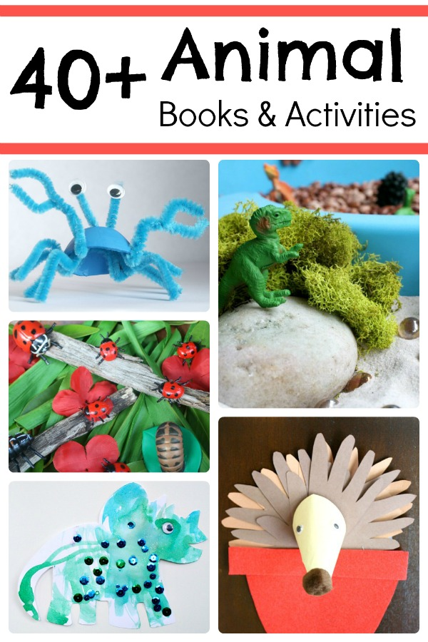40+ Animal Books and Activities from Fantastic Fun and Learning
