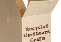 Recycled Cardboard Crafts and Activities