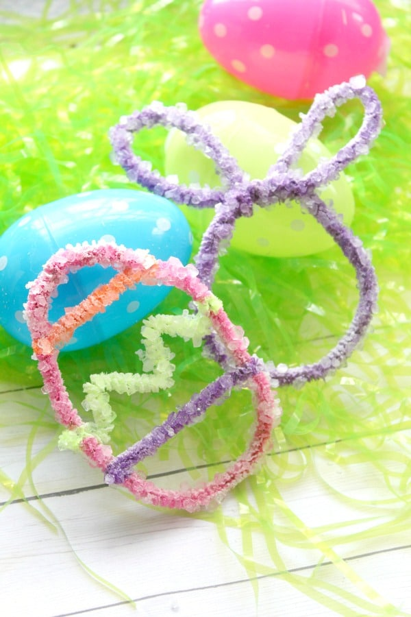 Crystal Egg Easter Craft for Kids