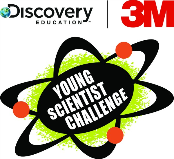 Discover Education 3M Young Science Challenge Logo