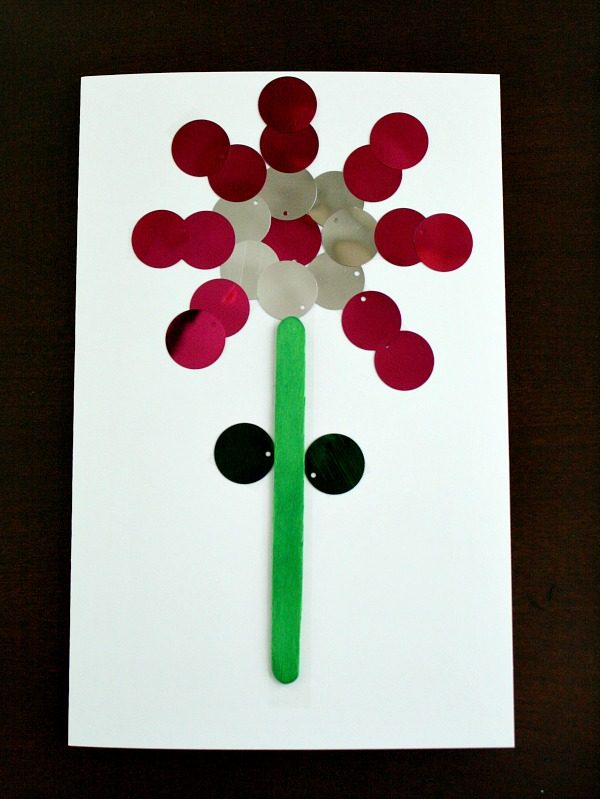 Easy Mother's Day Card Kids Can Make