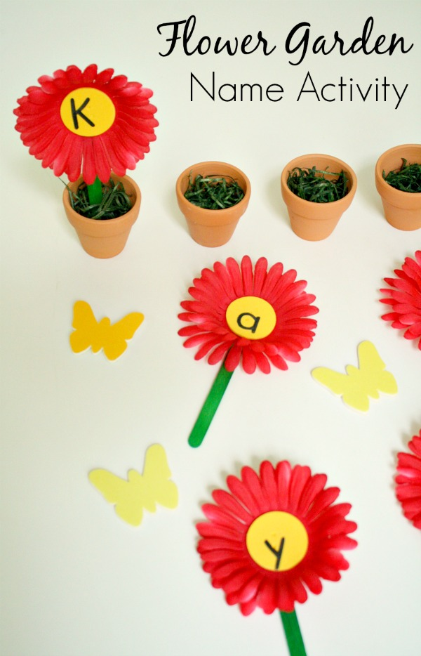 Flower Garden Name Game - Fantastic Fun & Learning
