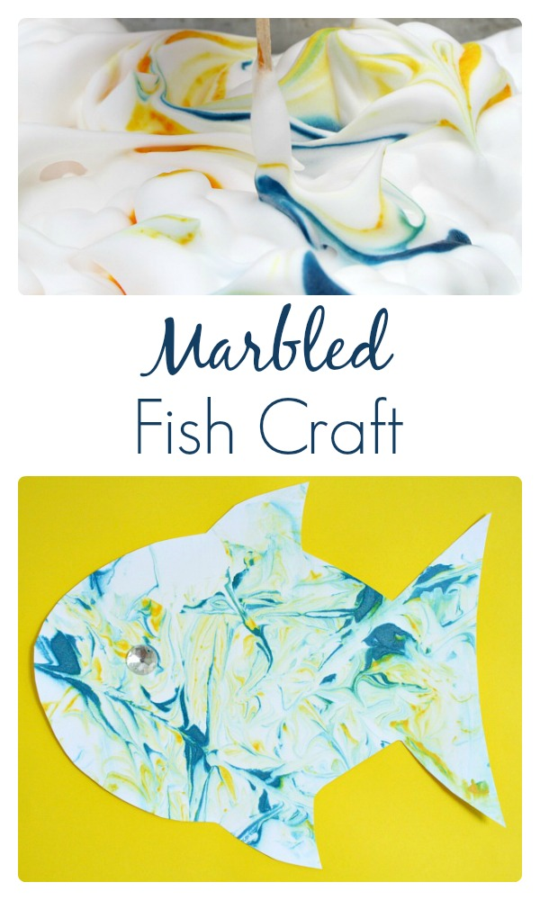 Marbled Fish Craft