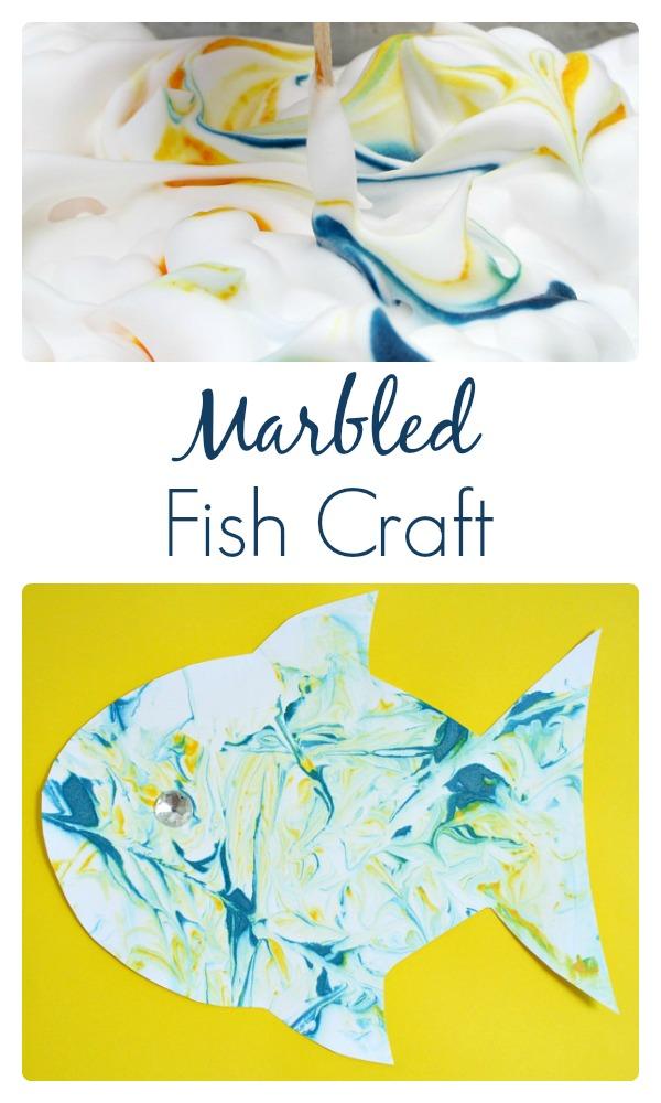 Marbled Fish Craft