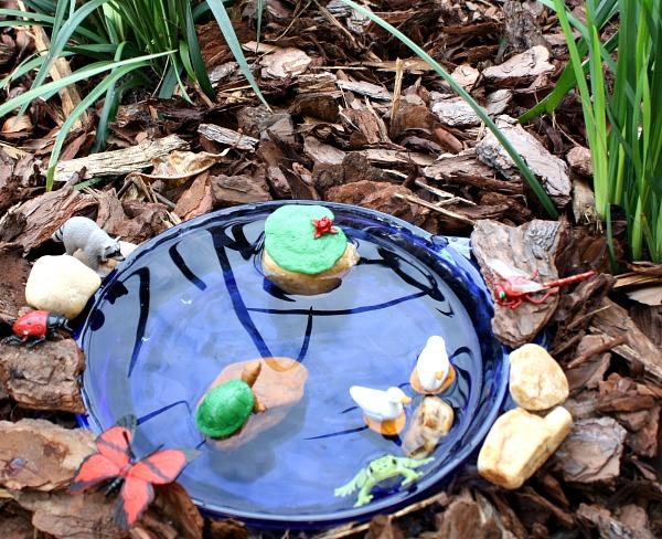 Pond Sensory Play