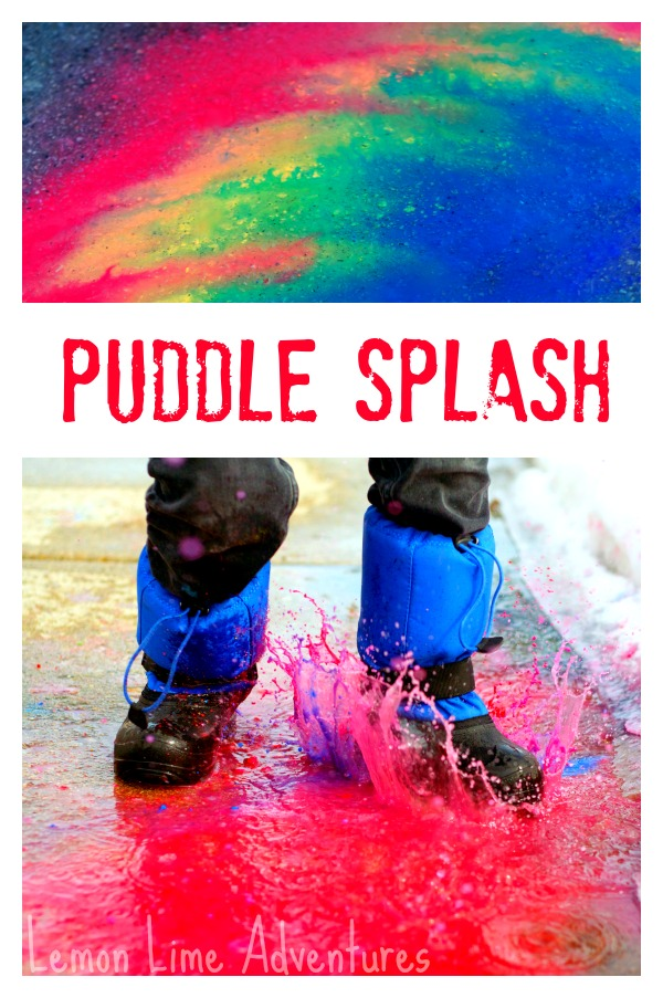 Sidewalk-Chalk-Art-in-Puddles
