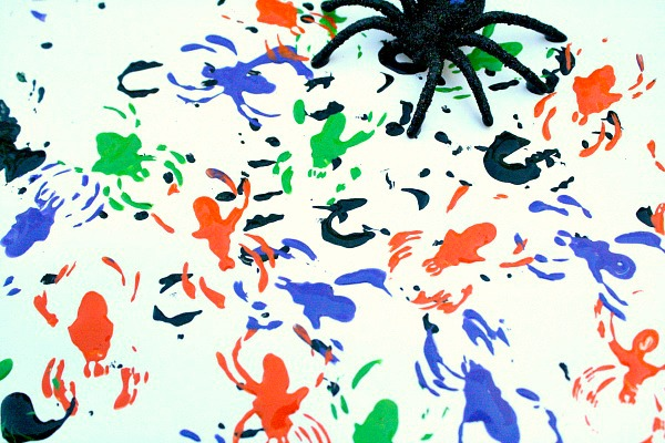 Paint with Spiders