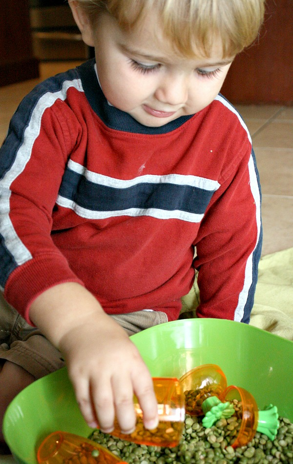 Toddler Sensory Play for Spring