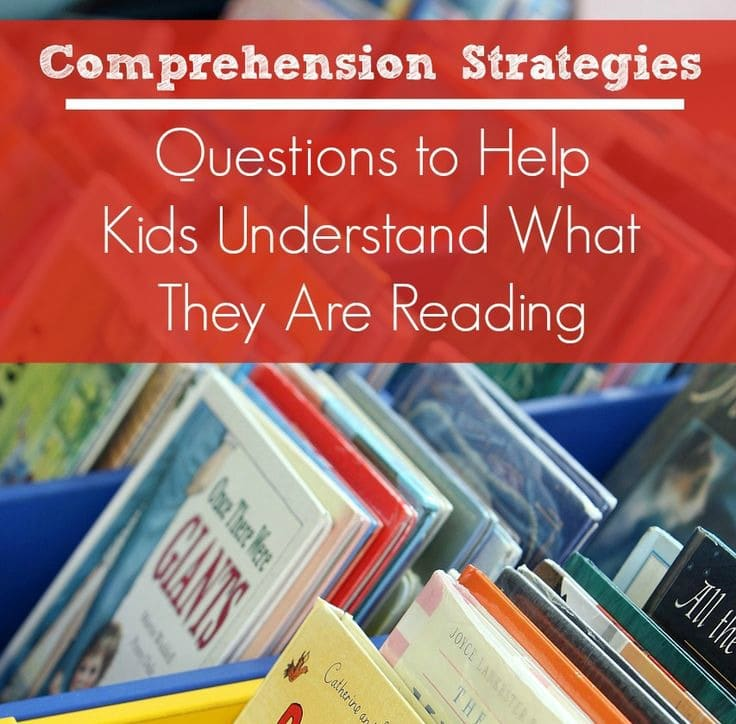 Free Printable Comprehension Questions for Parents and Teachers