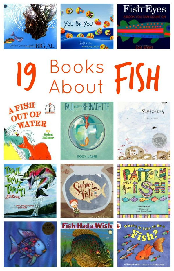 19 Books About Fish for Young Kids