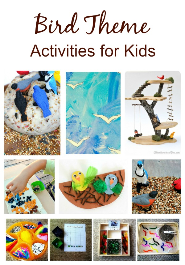 Bird Activities For Kids on Spring Preschool Themes Lesson Plans