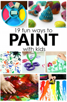 Fun Ways to Paint with Kids. Creative Process Art for Kids