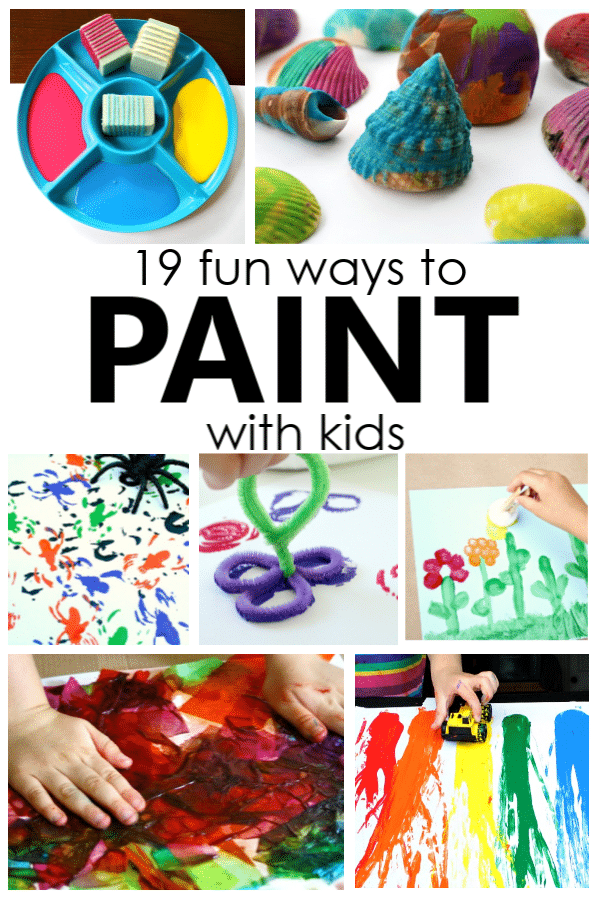Fun Ways to Paint with Kids