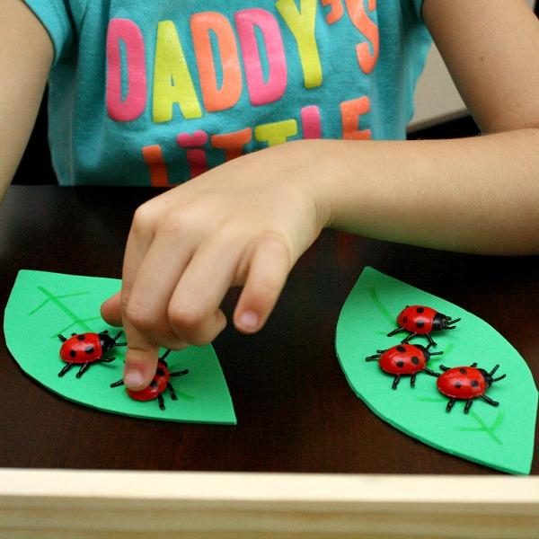Comparing Numbers-Ladybug Math