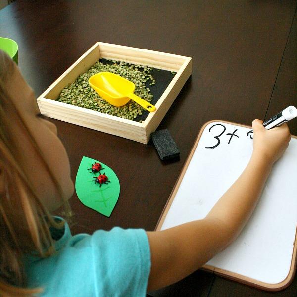 Ladybug Addition Game for Kids