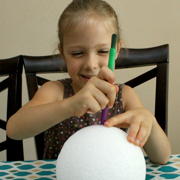 Making craters-moon craft