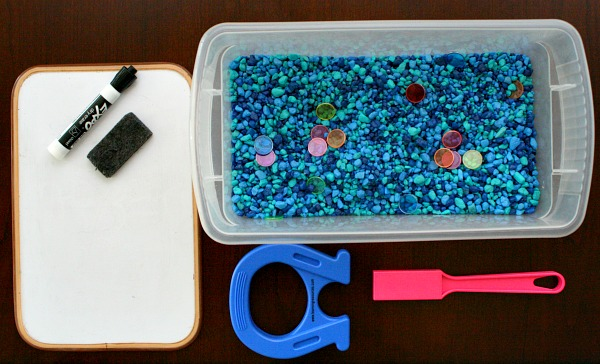 Materials for Math Game