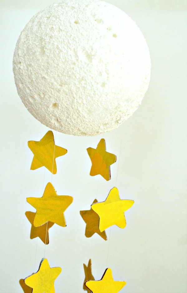 Moon Craft Mobile for Kids