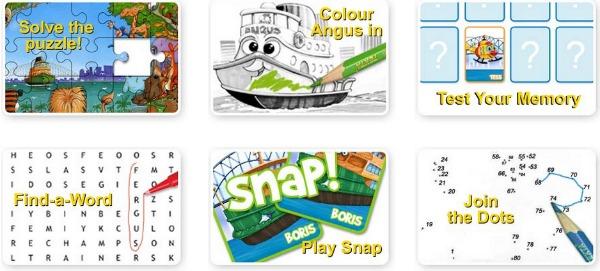 Online Games for Fergus Ferry