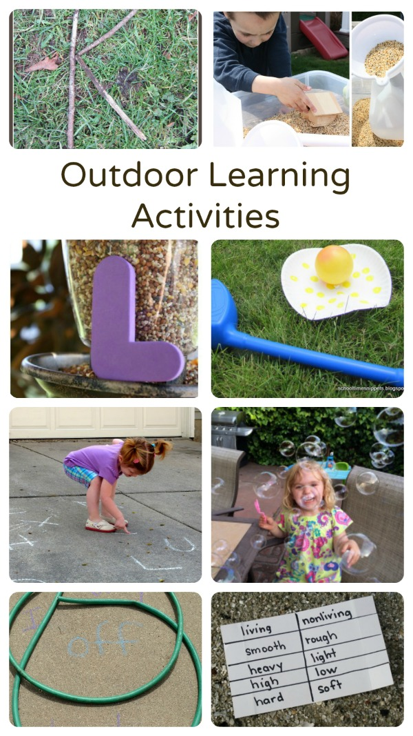Fun Outdoor Learning Activities